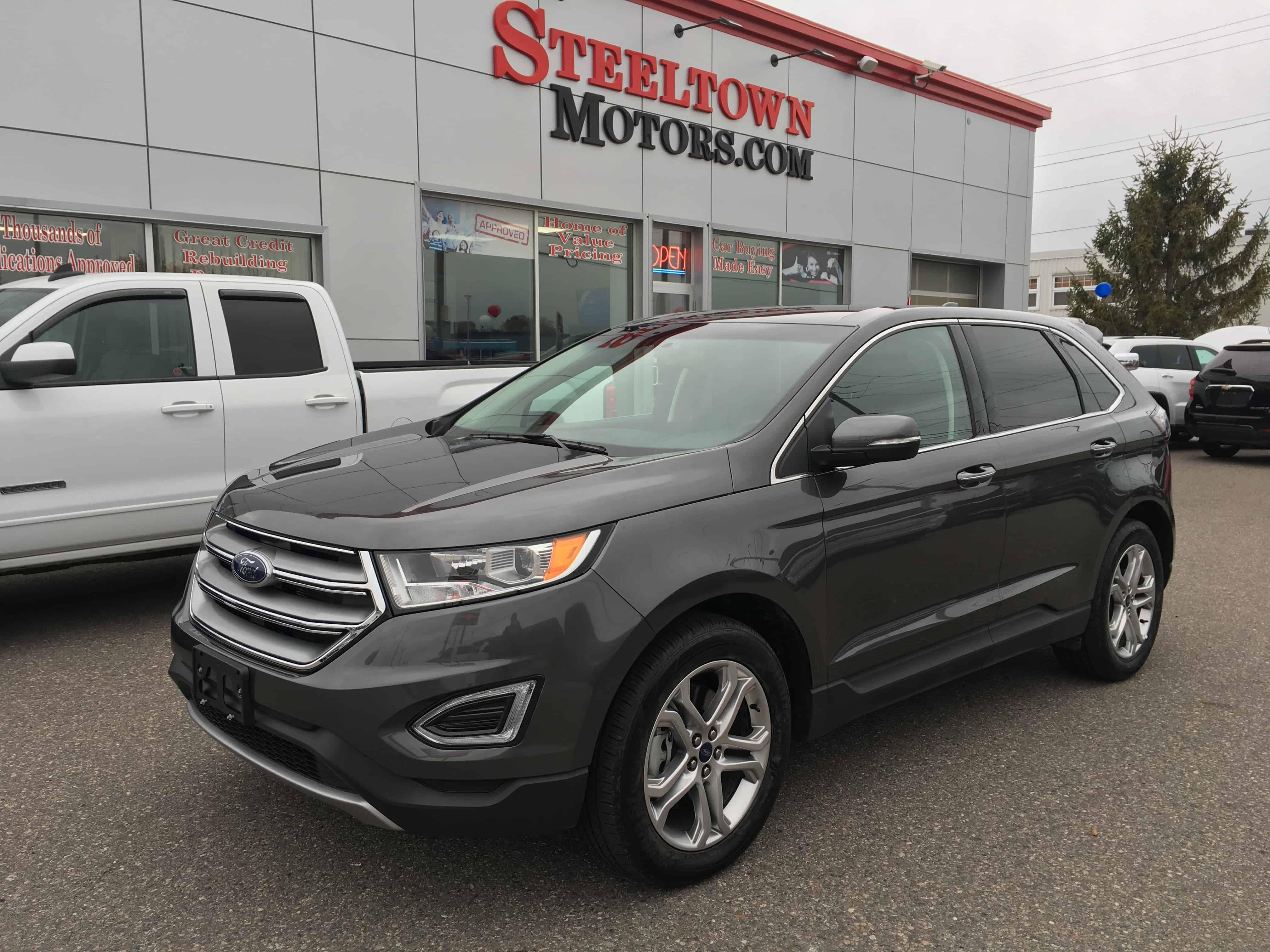 Ford Edge Titanium Awd Sold Steeltown Motors