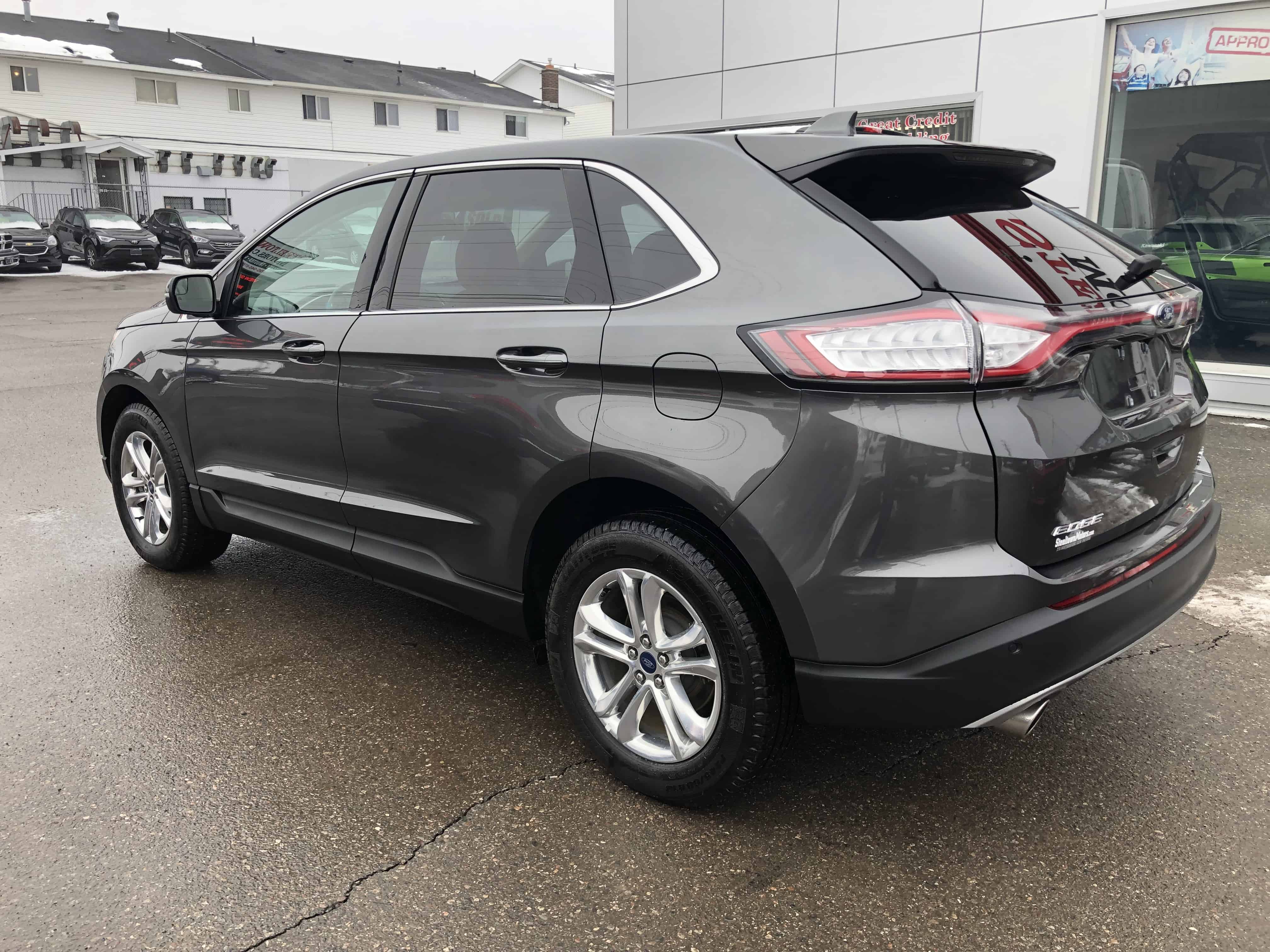 2018 Ford Edge Sel Ivory Interior Panoroof Nav Htd
