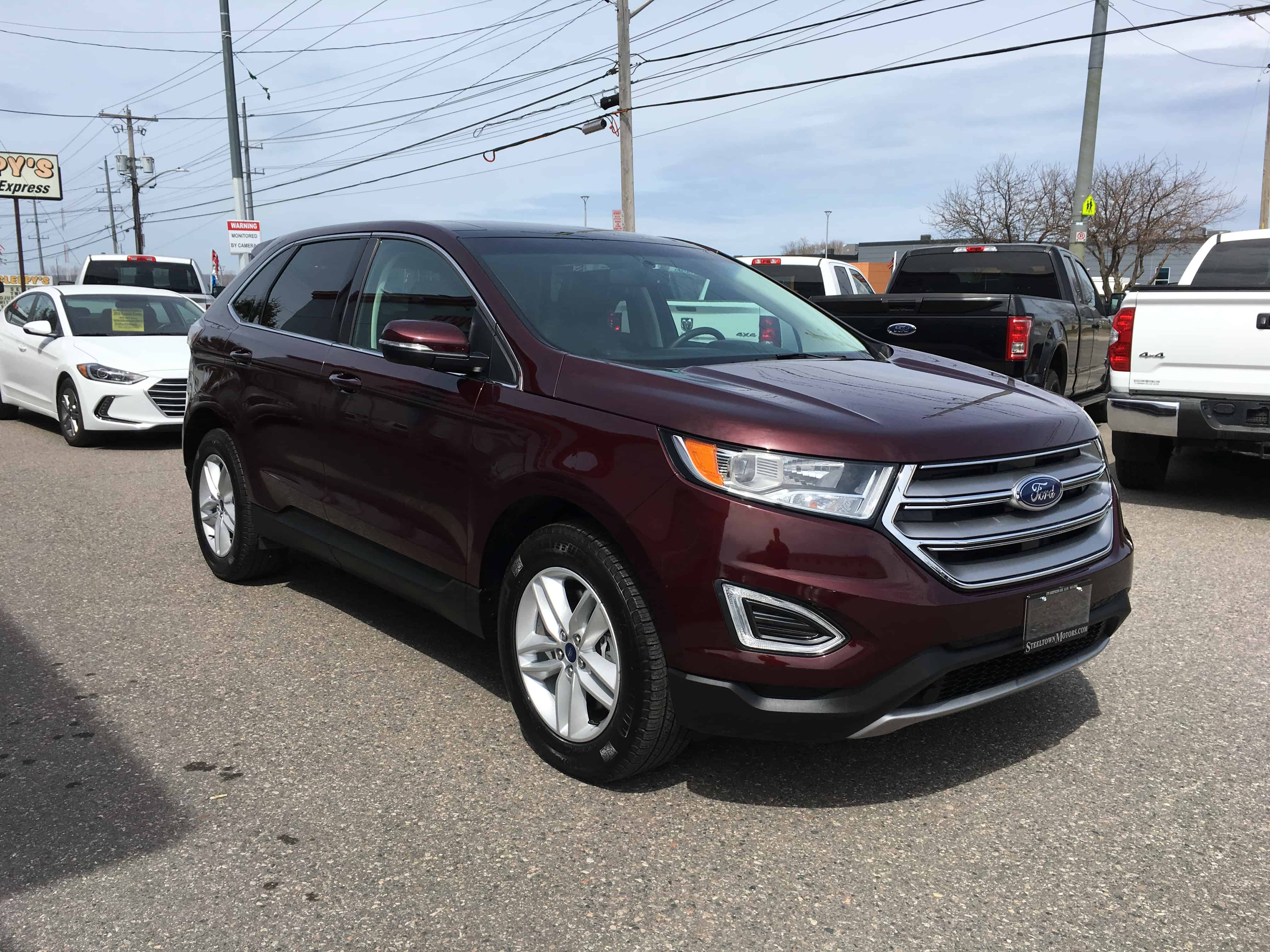 Ontario Quality Motors >> 2018 Ford Edge SEL |AWD|Htd Leather|Htd Steering Wheel|NAV ...